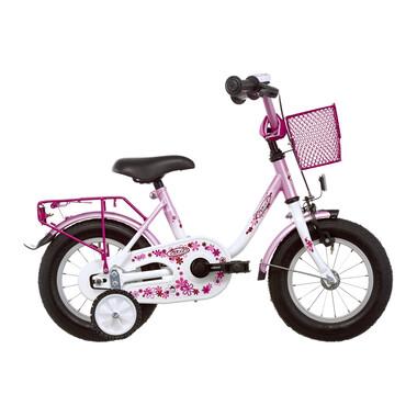 "Vélo Enfant VERMONT GIRLY 12"" Rose/Blanc"